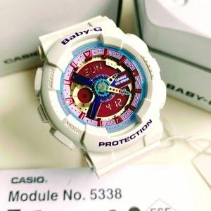 Casio Baby G Snow White Rainbow Gold G-Shock